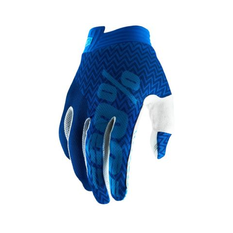 iTRACK 100% Glove Blue/Navy Youth